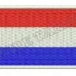 อาร์มปักธงเนเธอร์แลนด์