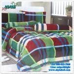 ผ้าปูที่นอนสไตล์โมเดิร์น เกรด A ขนาด 6 ฟุต(5ชิ้น)[AS-012]