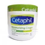 Cetaphil Moisturizing Cream เซตาฟิล มอยส์เจอร์ไรซิ่งครีม เป็นครีมบำรุงและปกป้องผิว สำหรับผิวที่บอบบาง ผิวแห้งและแพ้ง่าย หรือผิวหนังอักเสบ ขนาดกระปุกใหญ่ 453 กรัม