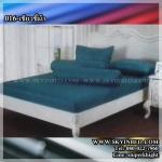ผ้าปูที่นอนสีพื้น (สีเขียวขี้ม้า)(พื้นเรียบ) ขนาด 5 ฟุต 5 ชิ้น