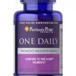 Puritan's Pride Women's One Daily Multivitamins / 100 Caplets
