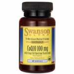 Swanson Ultra CoQ10 100 mg with 10 mg Tocotrienols 100/10 mg - 60 Sgels