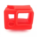 S4-RD Silicone Cover สำหรับกล้อง GoPro Hero3+,Hero4 สีแเดง