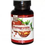 สารสกัดทับทิมเข้มข้นเพื่อผิวขาวใสกระจ่าง จาก USA ยอดนิยม Neocell Pomeganate from seed – 1,000 mg / 90 Caps