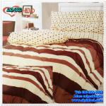 ผ้าปูที่นอนสไตล์โมเดิร์น เกรด A ขนาด 5 ฟุต(5ชิ้น)[AS-018]