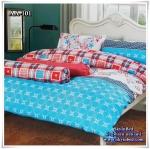 ผ้าปูที่นอน ลายกราฟฟิค เกรด AA ขนาด 6 ฟุต(5 ชิ้น)[AA-101]