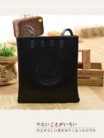 กระเป๋าหนัง pu รุ่นถือคล้องไหล่ ทรงหนังสือ สีดำ