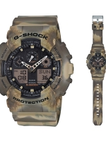 นาฬิกา คาสิโอ Casio G-Shock Special Color Models รุ่น GA-100MM-5A สินค้าใหม่ ของแท้ ราคาถูก พร้อมใบรับประกัน