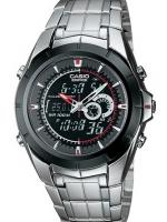 นาฬิกา คาสิโอ Casio Edifice Analog-Digital รุ่น EFA-119BK-1AV สินค้าใหม่ ของแท้ ราคาถูก พร้อมใบรับประกัน