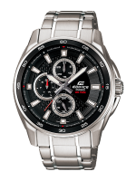 นาฬิกา คาสิโอ Casio Edifice Multi-hand รุ่น EF-334D-1AV สินค้าใหม่ ของแท้ ราคาถูก พร้อมใบรับประกัน