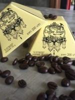สบู่กาแฟ สูตรเร่งขาว (Coffee soap)
