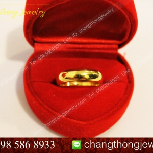 รหัส : R011 แหวนเกลี้ยง 1 สลึง