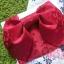 ํYukata กิโมโนฤดูร้อน ลายดอกไม้สีม่วงแดง พิมพ์ทอง thumbnail 2