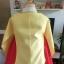 Princess Hanbok แบบชาววัง (ทังอี) สีเหลืองทอง ตัดแดง สวยอลังการ thumbnail 9