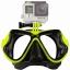 FMASK-LIME Freewell Diving Mask Lime สำหรับ GoPro สีมะนาว thumbnail 1