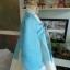 Royal Hanbok ฮันบกชาววัง ไหมเกาหลีสีฟ้าขาว สวยหรู thumbnail 5