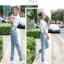 OW6002001เอี้ยมกางเกงยีนส์ขายาวผู้หญิงเกาหลี (พรีออเดอร์) รอสินค้า 3 อาทิตย์หลังโอนเงิน thumbnail 4