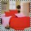 ผ้าปูที่นอนสีพื้น เกรด A สีแดง ขนาด 3.5 ฟุต 3 ชิ้น thumbnail 1