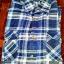เสื้อเชิ๊ตลายสก๊อตสีน้ำเงิน แบบเทห์ สภาพดี ราคา 150 บาท thumbnail 1