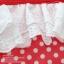 ชุดว่ายน้ำเด็ก สีแดงลายจุด ระบายลูกไม้สีขาว น่ารักน่าใส่ thumbnail 3