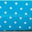 ผ้าปูที่นอนลายจุด เกรด A สีฟ้า ขนาด 5 ฟุต 5 ชิ้น thumbnail 2