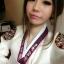 """Royal Hanbok แบบชาววัง (ทังอี) สีขาวครีม กระโปรงสีแดงปักมือ อก 38"""" thumbnail 11"""