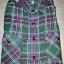 เสื้อลายสก๊อตสีเขียว-สีชมพู ราคา 150 บาท thumbnail 1