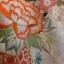 uchikake kimono กิโมโนอูชิคาเคะ สีขาวครีม งานปักดิ้นทอง thumbnail 5