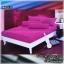 ผ้าปูที่นอนสีพื้น (สีม่วง)(พื้นเรียบ) ขนาด 3.5 ฟุต 3 ชิ้น thumbnail 1