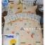 ผ้าปูที่นอนเกรด A ขนาด 6 ฟุต(5 ชิ้น)[AS-214] thumbnail 1
