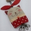 พวงกุญแจ key cover แมวสีแดง thumbnail 1