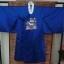 Nobility Hanbok Man (DURUMAGI) ฮันบกราชสำนักชายผ้าไหมเกาหลีสีน้ำเงินเข้ม thumbnail 1