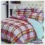 ผ้าปูที่นอนสไตล์โมเดิร์น เกรด A ขนาด 6 ฟุต(5 ชิ้น)[AS-060] thumbnail 1