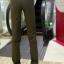 HW5906010 กางเกงทหารหญิงทรงหลวมสีเขียวกองทัพ (พรีออเดอร์) รอ 3 อาทิตย์หลังโอนเงิน thumbnail 2