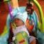 เปลโยกมัลติฟังก์ชั่น &#x2665 Rocking Baby Bouncer Newborn-to-Toddler Portable Rocker (สีฟ้า) thumbnail 6