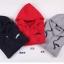 KW5808002 เสื้อกันหนาวมีฮูด ผ้าผสมขนสัตว์สาวเกาหลี (พรีออเดอร์) รอ 3 อาทิตย์หลังชำระเงิน thumbnail 4