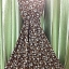 Dress ยาวทรง A สไตส์วินเทจ สีทอง เรียบหรูดูดี ราคา 150 บาท thumbnail 4