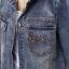 FW6008020 เสื้อแจ็กเก็ตยีนส์แขนยาวแต่งงานปักพื้นหลังเก๋ (พรีออเดอร์) รอ 3 อาทิตย์หลังโอนเงิน thumbnail 5
