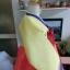 "Hanbok เกรด A+++ ผ้าไหมเกาหลี สีส้มสดใส อก 38"" สูง 165 cm thumbnail 7"