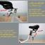 จักรยานออกกําลังกาย Spin Bike รุ่นS808/20kg. thumbnail 18