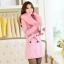 CW5908003 เสื้อโค้ทเกาหลี2016 กันหนาว ผ้าขนสัตว์ แต่งเฟอร์ขน อบอุ่นมาก(พรีออเดอร์) รอ 3 อาทิตย์หลังโอนเงิน สำเนา thumbnail 5