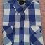 เสื้อเชิ๊ตลายสก๊อตสีน้ำเงิน ราคา 150 บาท thumbnail 1