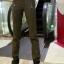 HW5906010 กางเกงทหารหญิงทรงหลวมสีเขียวกองทัพ (พรีออเดอร์) รอ 3 อาทิตย์หลังโอนเงิน thumbnail 3