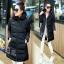 CW5711007 เสื้อโค้ทเกาหลี มีฮูด ซิปหน้า ผ้าผสมขนสัตว์ อบอุ่นมาก (พรีออเดอร์) รอ 3 อาทิตย์หลังโอนเงิน thumbnail 6