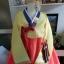"Hanbok เกรด A+++ ผ้าไหมเกาหลี สีส้มสดใส อก 38"" สูง 165 cm thumbnail 3"
