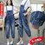 OW6003001 เอี้ยมยีนส์ผู้หญิงผ้ากันเปื้อนขาจั้ม ฤดูร้อน (Pre-order) thumbnail 1
