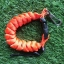 Cetacea Housing Heavy Duty Coiled Lanyard Orange สีส้ม thumbnail 1