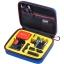 G160S-BL-YE SmaCase G160S รุ่นใหม่ EVA foam สีน้ำเงิน-เหลือง สำหรับใส่กล้อง GoPro Hero5, Hero4,Hero3+,Hero3,Hero2 thumbnail 1