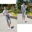 OW5710004 เอี้ยมยีนส์สาวเกาหลี 5 ส่วนคาบอยน่ารัก (พรีออเดอร์) รอสินค้า 3 อาทิตย์หลังโอนเงิน thumbnail 1