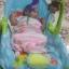 เปลโยกมัลติฟังก์ชั่น &#x2665 Rocking Baby Bouncer Newborn-to-Toddler Portable Rocker (สีฟ้า) thumbnail 5